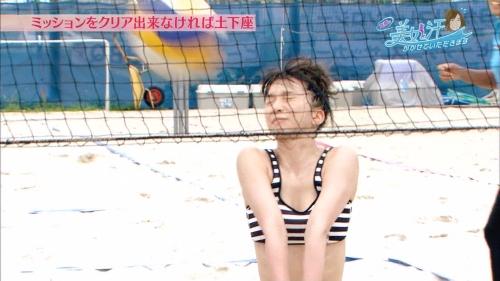 芹那のセクシーすぎる汗まみれビーチバレーがあざと可愛いと話題に 『芹那の美女と汗をかかせていただきます』4
