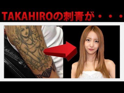 EXILE TAKAHIROのタトゥーがダサすぎるwww1