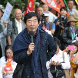 三流タレント石田純一さん、国会前の反安保デモに参加し、バカ丸出しの発言「戦争は文化ではない」