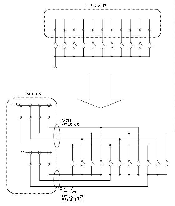 たんたんたのしいタンバリン(Benesse)の修理(マイコン換装)治療1