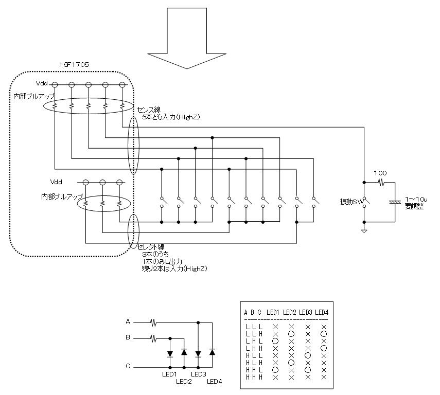 たんたんたのしいタンバリン(Benesse)の修理(マイコン換装)治療6