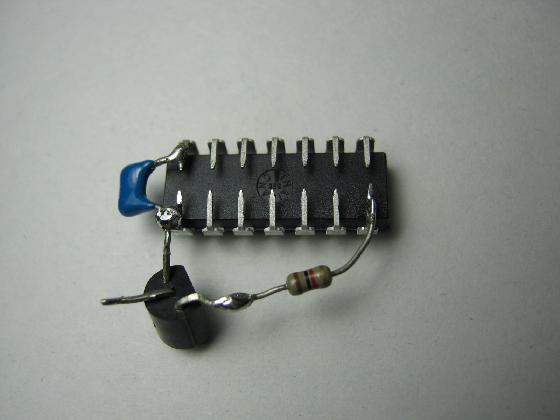 キッズドライバー「アガツマ」ハンドルの修理(電子オルゴール・音声再生換装)治療4