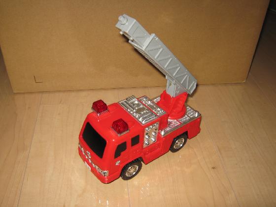消防車MARUSHOの修理(ギア製作)外観