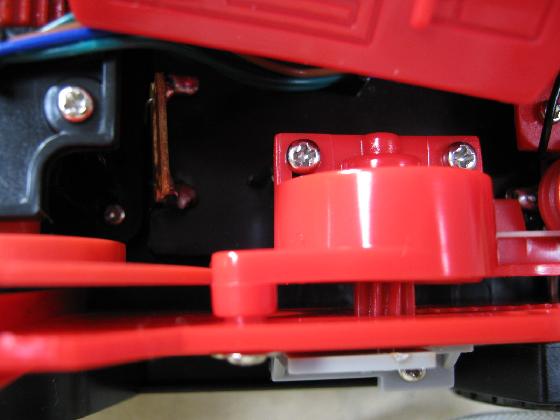 消防車MARUSHOの修理(ギア製作)診察3