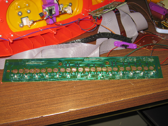 アンパンマンキーボードTOHOの修理(パターン切れ)診察1