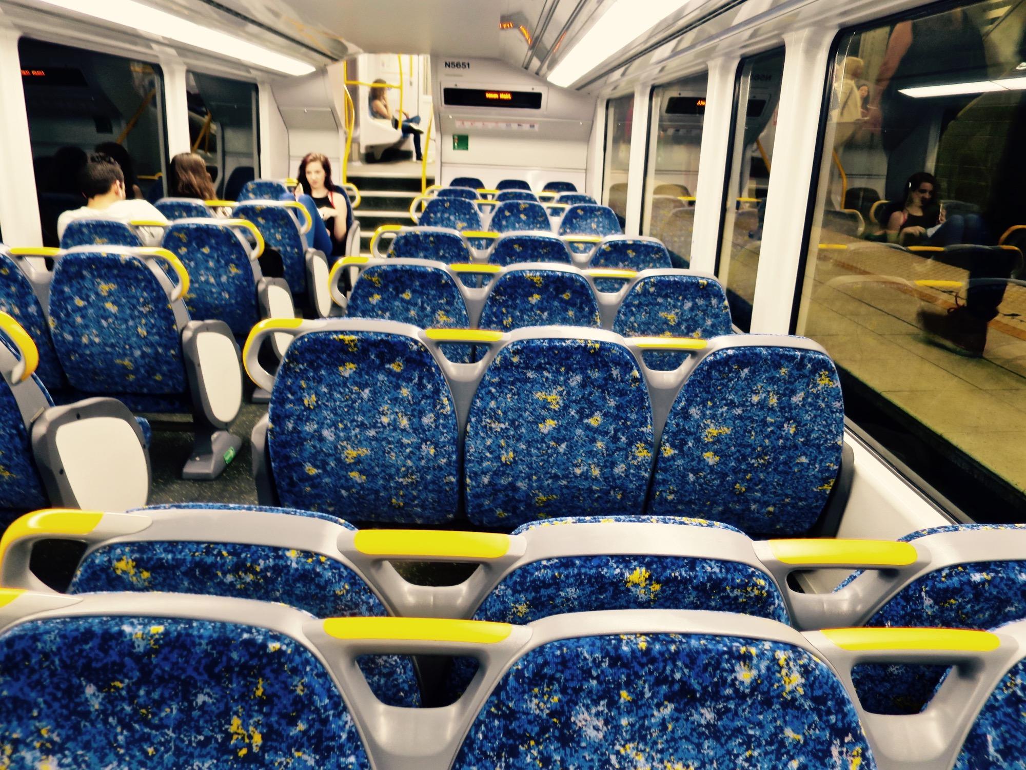 City Rail 座席