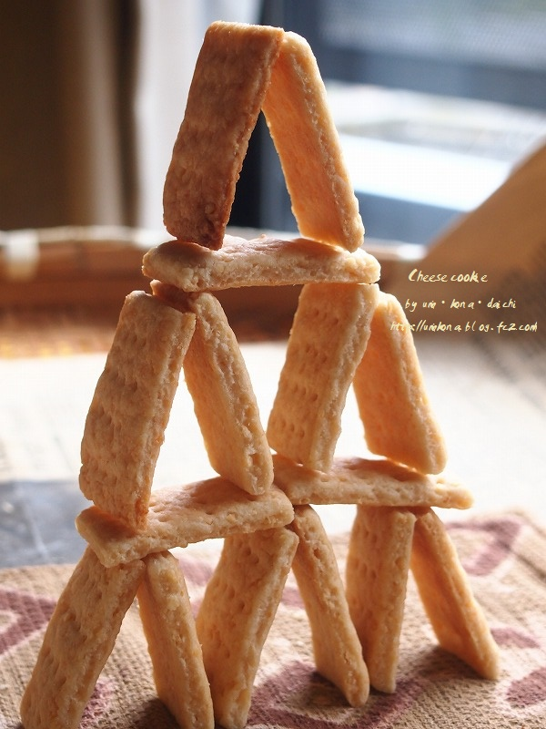 チーズクッキー・タワー1