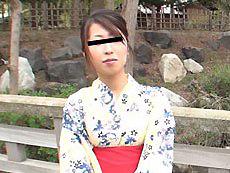【無修正】浴衣の似合う不倫妻  三津山法子