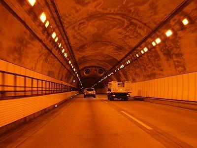 トンネル内の画像2