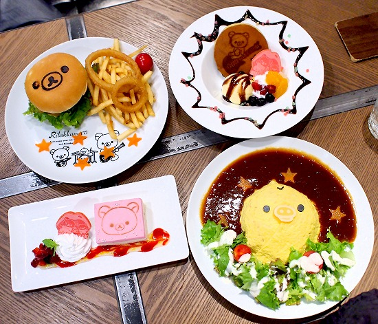 テーブル02@TOWER RECORDS CAFE×Rilakkuma