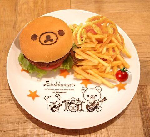 リラックマのまくまくハンバーガー09@TOWER RECORDS CAFE×Rilakkuma