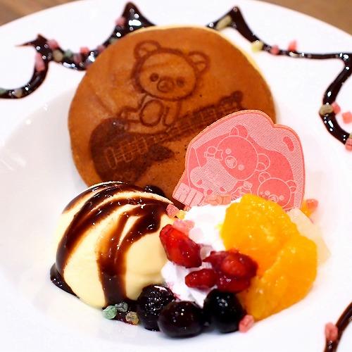 だららんパンケーキ風どら焼き03@TOWER RECORDS CAFE×Rilakkuma