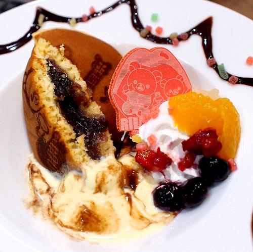 だららんパンケーキ風どら焼き04@TOWER RECORDS CAFE×Rilakkuma