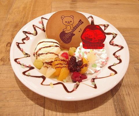 だららんパンケーキ風どら焼き02@TOWER RECORDS CAFE×Rilakkuma