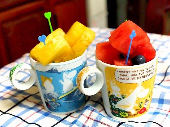 ムーミン マグカップフルーツ02@ムーミンマーケット2015 西武所沢店