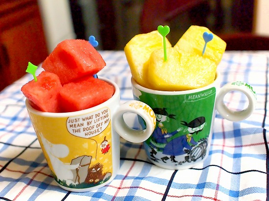 ムーミン マグカップフルーツ03@ムーミンマーケット2015 西武所沢店
