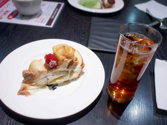 テーブル@Cafe comme ca(カフェ・コムサ)池袋東武店 2015年09月