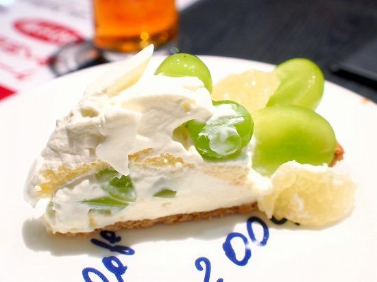 山形県産「シャインマスカット」とグレープフルーツのタルト02@Cafe comme ca(カフェ・コムサ)池袋東武店 2015年09月