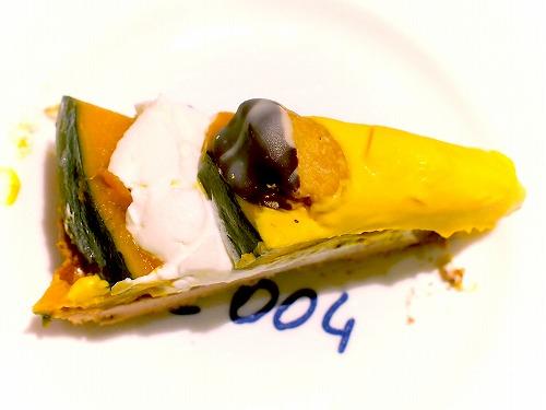 かぼちゃのタルト03@Cafe comme ca 2015年09月