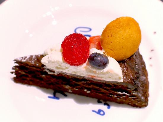 ガトークラシックショコラ03@Cafe comme ca 池袋東武店 2015年09月
