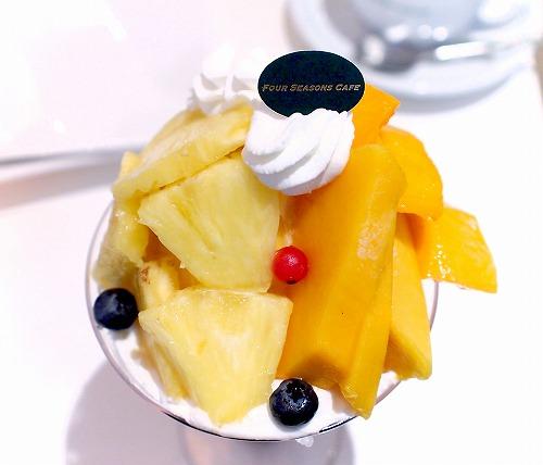 沖縄マンゴーとパイナップルのパフェ03@FOURSEASONS CAFE 2015年08月