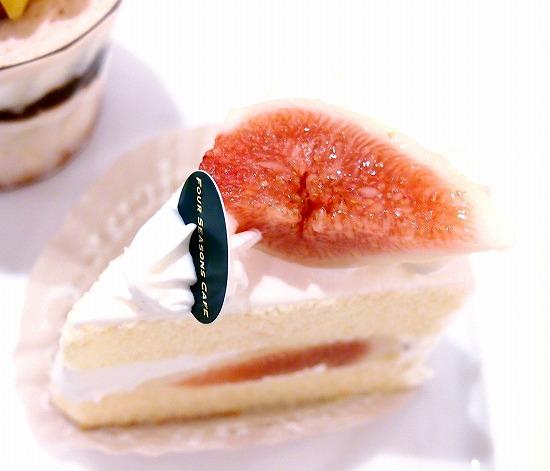 イチヂクショート(いちじくショート)02@FOURSEASONS CAFE 2012年09月