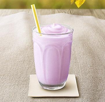 マックシェイク 紫いも02@McDonalds 2015年09月