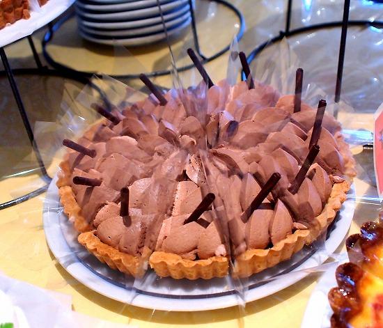 チョコレートタルト01@MACARONI MARKET(マカロニ市場) 松戸店 2015年09月