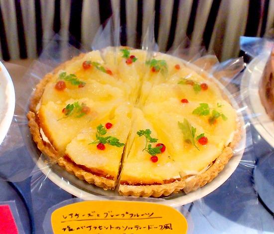 レアチーズとグレープフルーツ01@MACARONI MARKET(マカロニ市場) 松戸店 2015年09月