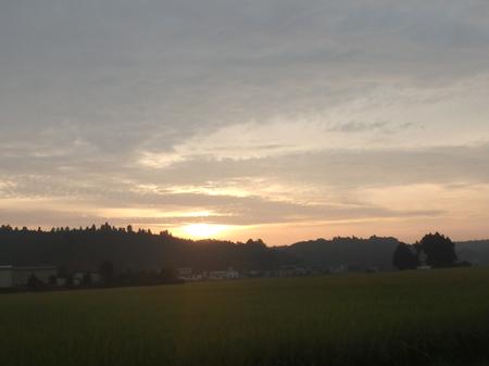 27_09_26 朝日が昇る少し前