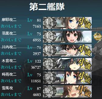 150823に艦隊