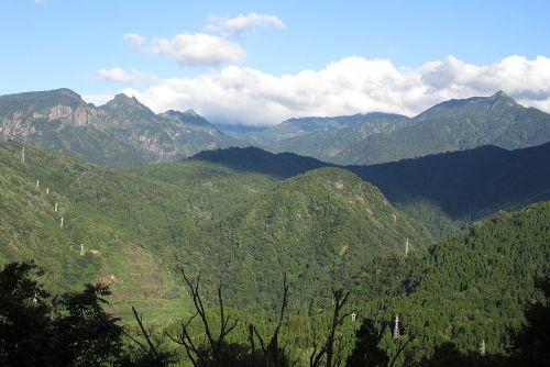 駒ヶ岳から雨飾山
