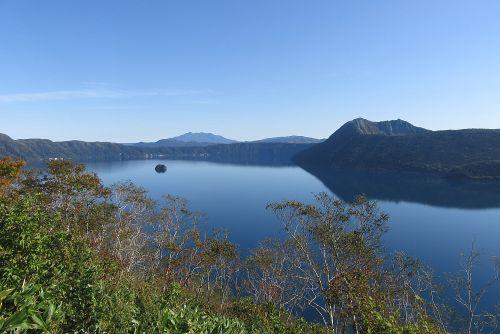 第一展望台から摩周湖