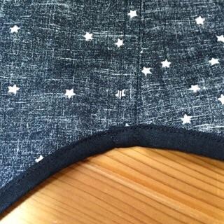 星のネイビーシャツ1