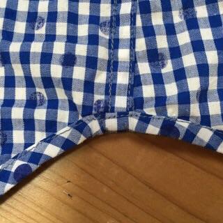 星のネイビーシャツ2