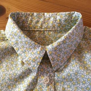 星のネイビーシャツ3