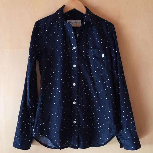 星のネイビーシャツ5