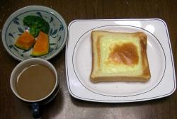 朝のパンとコーヒー-1