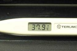 熱を計ったら20150930-午後8時前