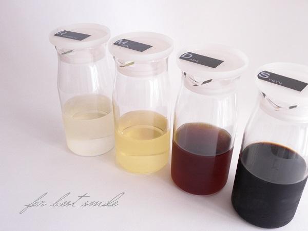 06>液体調味料の収納場所&見やすいラベル