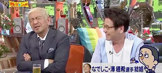 ワイドナショー画像 松本人志をネタにウーマン村本がスベり松本は苦い顔 2015年8月16日