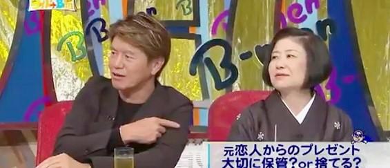 ワイドナショー画像 ヒロミ 山口恵以子「元カレの写真なんて残ってない」 2015年8月23日