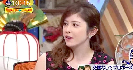 ワイドナショー画像 ラフルアー宮澤エマ「舞台は恋愛に発展しやすいが熱が冷めるのも早い」 2015年8月30日