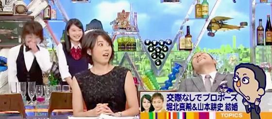 ワイドナショー画像 松本人志の「頑張って愛人作る」発言に驚く秋元優里アナと爆笑の東野幸治 2015年8月30日