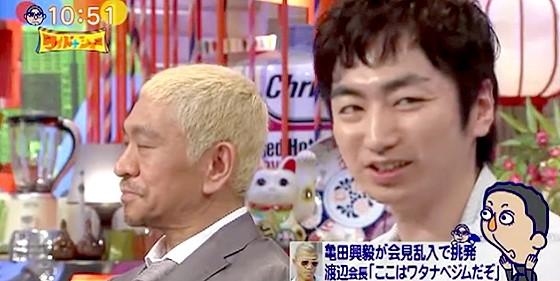 ワイドナショー画像 松本人志 羽田圭介「パフォーマンスで本の売り上げが延びるならやる」 2015年9月6日