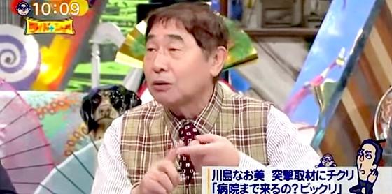 ワイドナショー画像 蛭子能収 高橋英樹との不仲説は記者の勝手な思い込み。そのせいで共演が全くなくなった 2015年9月20日
