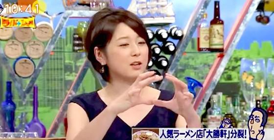 ワイドナショー画像 秋元優里アナ「週刊誌によく出てる派閥の相関図なんてウソ。全くない」 2015年10月11日