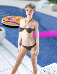 Halter Neck Bikini Ge3F