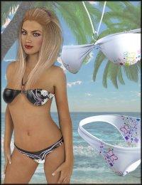 Halter Neck Bikini Textures