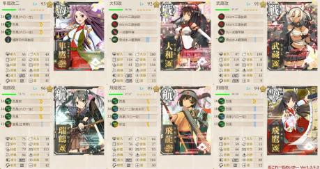 第1艦隊最終